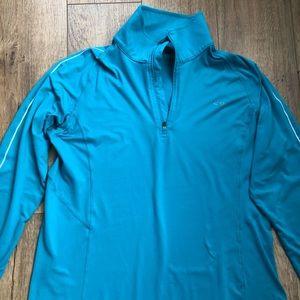 Champion Women's blue long sleeves shirt size XL